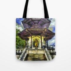 The Pagoda Vincent Van Gogh Tote Bag