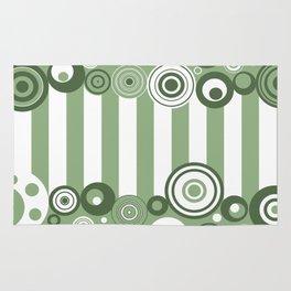Circles and stripes Rug