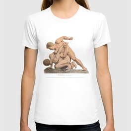 Nude Wrestlers T-shirt