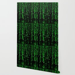 Matrix Binary Code Wallpaper