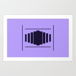 Trapped By The Order Art Print