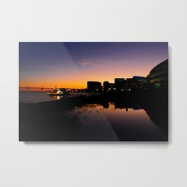 Evening spills Metal Print