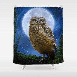 Hibou Shower Curtain