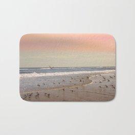 Pink Sandy Beaches Bath Mat