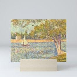 "Georges Seurat ""The Seine at La Grande Jatte"" Mini Art Print"