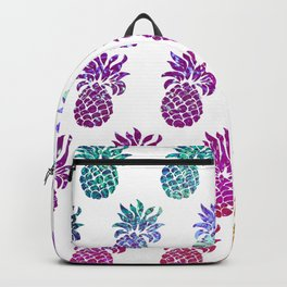Hologram pineapples Backpack