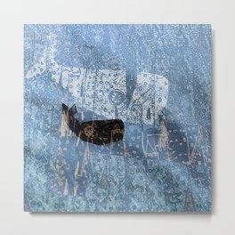 whale and spirit Metal Print