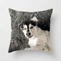 georgia Throw Pillows featuring Georgia by Sydney S Photography