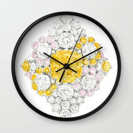 Romb Ring Wall Clock