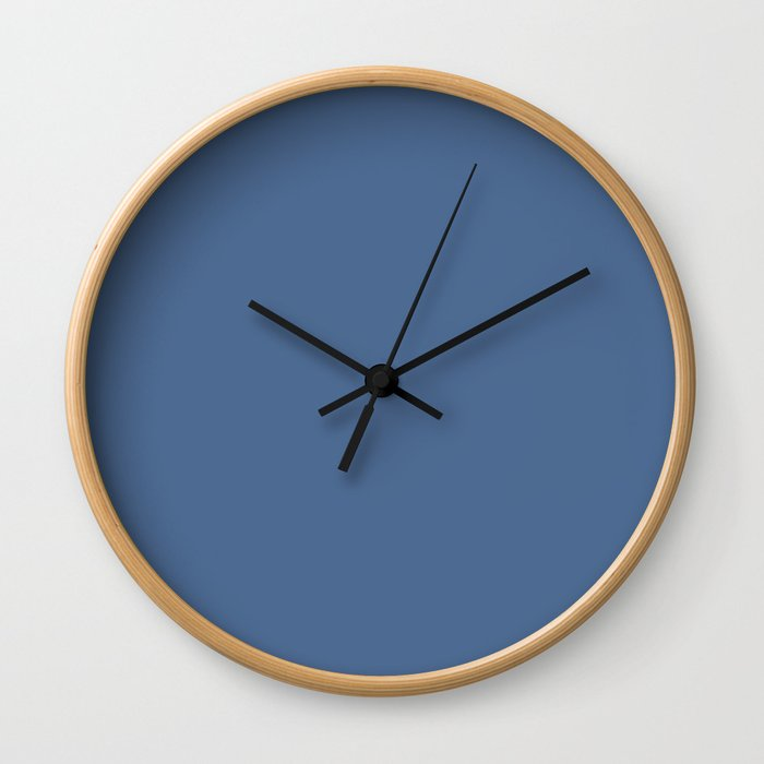 PANTONE 17-4028 Riverside Wall Clock