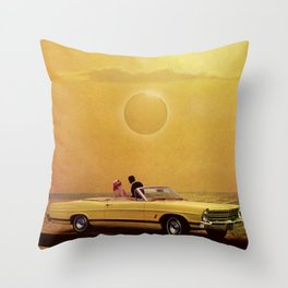 Yellow Fever View Throw Pillow