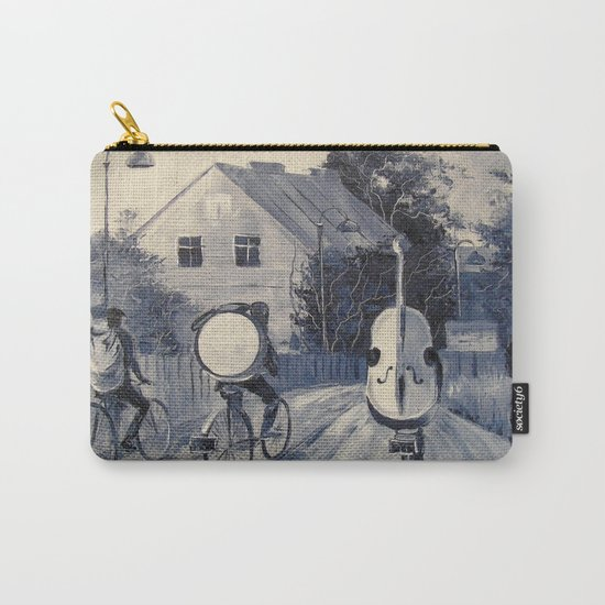 Street musicians Carry-All Pouch