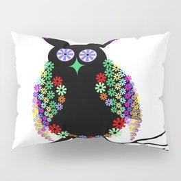 Owl eagle owl bird feather Pillow Sham