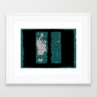 rothko Framed Art Prints featuring Rothko Untitled  by Horus Vacui
