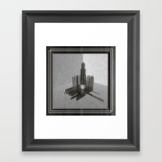 ACCIDENTAL  RAIN Framed Art Print