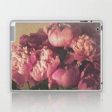 Pink Peonies II Botanical Still Life Laptop & iPad Skin
