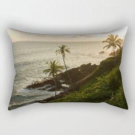 Sri Lankan golden hour Rectangular Pillow