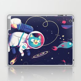 The Adventures of Space Cat Laptop & iPad Skin