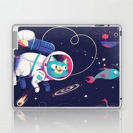 The Adventures of Space Cat Laptop & iPad Skin