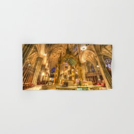 St Patrick's Cathedral New York Hand & Bath Towel