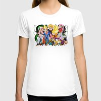 saga T-shirts featuring DBZ - Buu Saga by Mr. Stonebanks