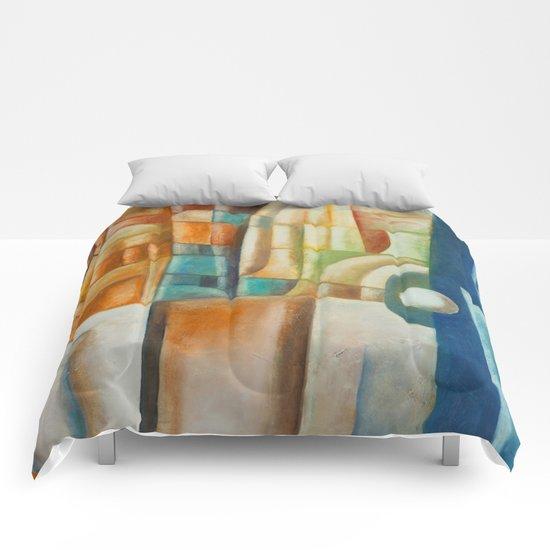 Bihind of horison. Comforters