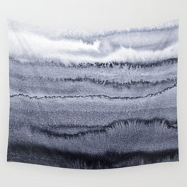 WITHIN THE TIDES - VELVET GREY Wall Tapestry