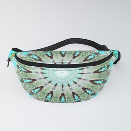 Tropical Floral Mandala Fanny Pack