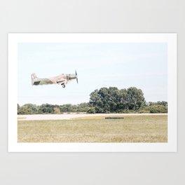 takeoff at Oshkosh Art Print