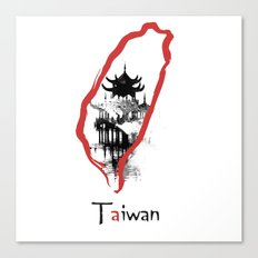 Taiwan, Taipei Canvas Print