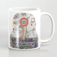 polaroid Mugs featuring Polaroid by monicamarcov