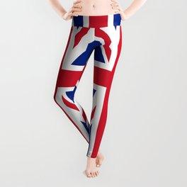 United Kingdom Flag UK British Patriotic Leggings