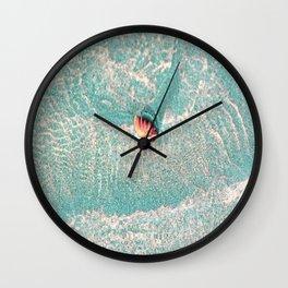 Rhine Shell Wall Clock