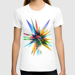 Colorful abstract star T-shirt