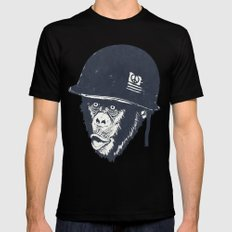 Monkey mania Black Mens Fitted Tee 2X-LARGE