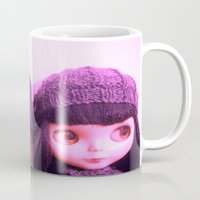doll Mugs featuring doll by helendeer
