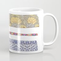 david Mugs featuring color your life by Bianca Green