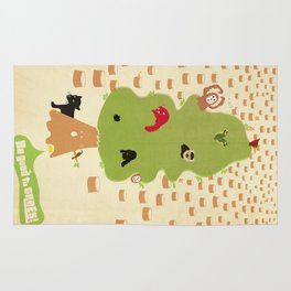 Be Good to Trees Rug