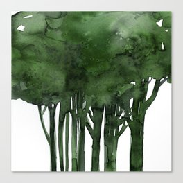 Tree Impressions No.1C by Kathy Morton Stanion Canvas Print
