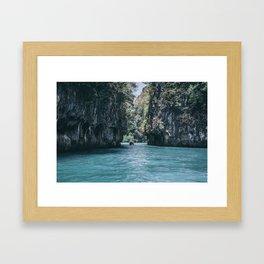 The Secret Lagoon Framed Art Print