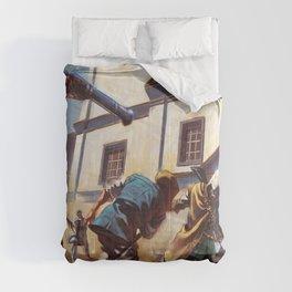 Assassin cr logo Comforters