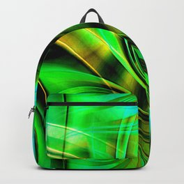 Curls Deluxe Green Backpack