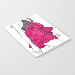 Pink dress Notebook
