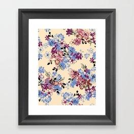 pattern art flower #4 Framed Art Print