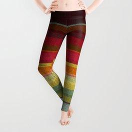 Woven Rainbow 02 Leggings