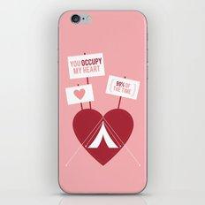 Occupy My Heart iPhone & iPod Skin