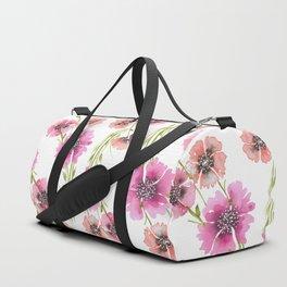 FLORAL DUET Duffle Bag