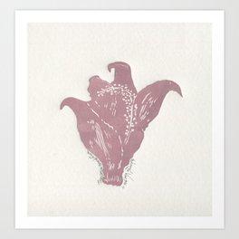 Thespesiagrandiflora (Maga) Art Print
