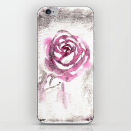 Red Red Rose iPhone Skin