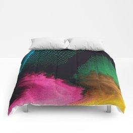 Dreamscape - Glitch Art Comforters